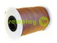 Молния спиральная рулонная коричневая 155 тип 3