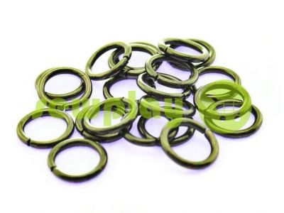 Ring steel 10 mm, thickness 1,8 mm, color black nickel sku 1707