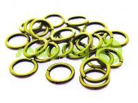 Кольцо стальное 10 мм, толщина 1,8 мм, цвет антик