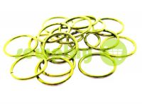 Ring steel 20 mm, thickness 1,8 mm, color gold