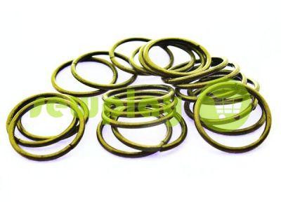 Кольцо стальное 20 мм, толщина 1,8 мм, цвет антик арт 1712