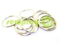 Кольцо стальное 25 мм, толщина 2,5 мм, цвет никель