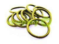 Кольцо стальное 32 мм, толщина 4 мм, цвет антик