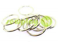 Кольцо стальное 40 мм, толщина 5 мм, цвет никель