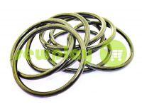 Кольцо стальное 50 мм, толщина 4 мм, цвет темный никель
