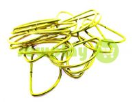 Semiring steel 38 mm, thickness 1,5 mm, the color of gold