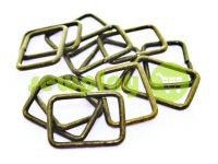 Frame metal 20 mm, thickness 1,8 mm, color antique, 10 pcs