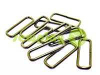 Frame metal 32 mm, thickness 2,5 mm, color black nickel, 10 pcs