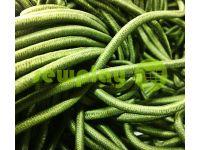 Шнур эластичный оливковый 3 мм