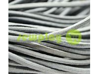 Cord elastic gray 3 mm