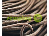 Шнур эластичный коричневый 3 мм