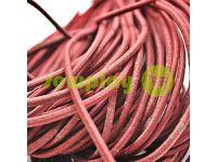 Шнур эластичный красный 3 мм