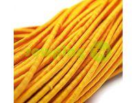 Шнур эластичный желтый 3 мм