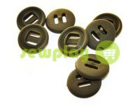 Button NATO 20 mm under the braid 8 mm, olive