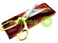 Ножиці кравецькі із золотою ручкою і самозагострювальними лезами
