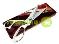 Ножиці кравецькі із срібною ручкою і самозагострювальними лезами