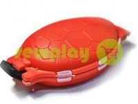 "Box for small things ""Turtle"", red"