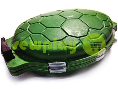 """Box for small things """"Turtle"""", green sku 1926"""