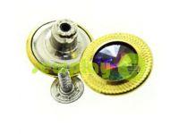 """Buttons denim """"Relief-Stone AB"""" 17 mm, color gold, 10 pcs"""