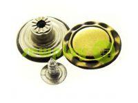 """Buttons denim stainless """"Crown"""" 17 mm, color antique, 10 pcs"""