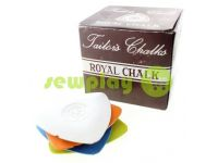 "Chalk silicone triangular ""Royal"" 10 pcs"