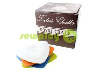 "Chalk silicone triangular ""Royal"" 10 pcs sku 867"