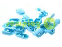 "Tip ""beans"" plastiс blue cord d= 6 mm, 10 pcs"