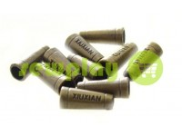"Tip ""Xiuxian"" plastiс antique 20 mm* 8 mm, cord d= 4 mm, 10 pcs"