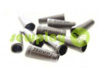"Tip ""xiuxian"" plastiс black nickel 20 mm* 8 mm, cord d= 4 mm, 10 pcs"