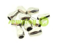 "Tip ""Gran"" plastiс nickel 12 mm* 8 mm, cord d= 3 mm, 10 pcs"