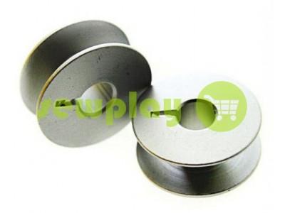 Шпуля для промышленной швейной машины алюминиевая с надсечкой арт 946