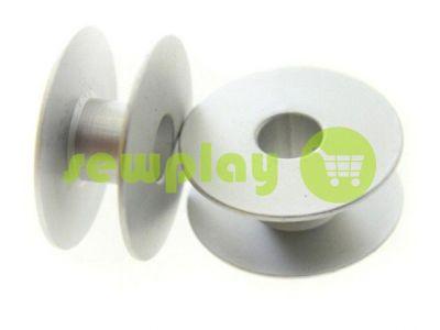 Шпуля для промышленной швейной машины алюминиевая без надсечки арт 947
