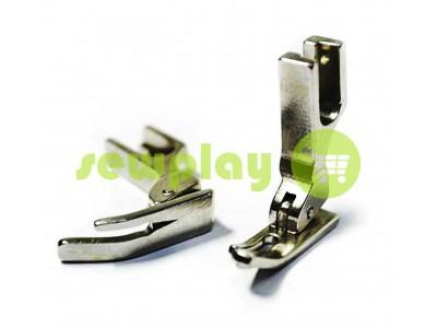 Лапка металлическая P360 для промышленной швейной машины с зауженной левой лыжей арт 956