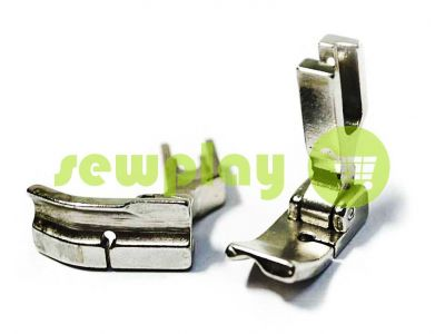 Foot metal industrial P69HR/P69HL 1/4 to stitch edging  sku 962