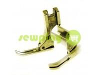 Лапка металева P363 для промислової швейної машини з завуженою лижею  арт 966