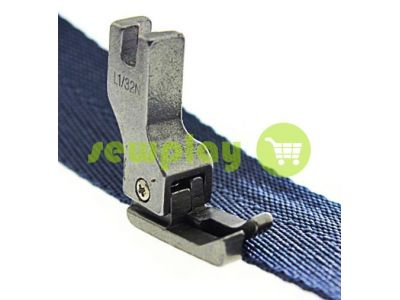 Foot industrial metal L1/32N for topstitching along the edge of the fabric  sku 970