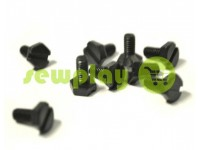 Screw for industrial sewing machines