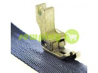 Foot industrial metal CR 1/8 for topstitching along the edge of the fabric