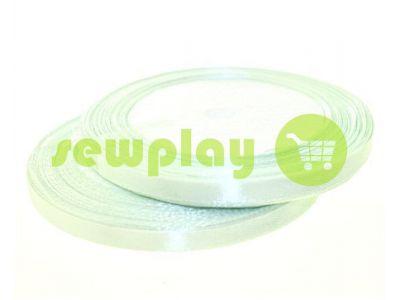 Satin Tape 7mm, color honeydew, length 25 m