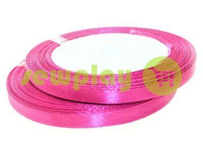 Satin Tape 7mm, color crimson, length 25 m