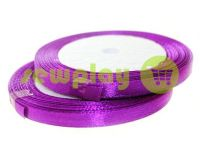 Satin Tape 7mm, color mediumorchid, length 25 m