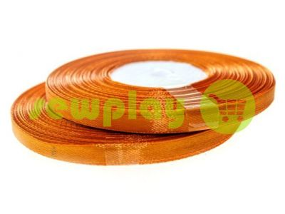 Satin Tape 7mm, color sandybrown, length 33 m