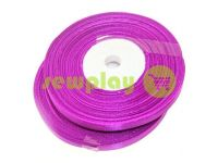 Satin Tape 7mm, color mediumorchid, length 33 m