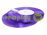 Satin Tape 7mm, color navy, length 33 m
