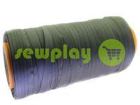 Тесьма брючная безусадочная 15 мм, цвет серый 1238