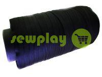 Тесьма брючная безусадочная 15 мм, цвет черный
