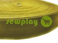 Тесьма усиленная для сумок 20 мм - 50 мм, цвет койот