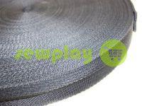 """Тесьма для сумок """"Елка"""" 25 мм, цвет серый"""