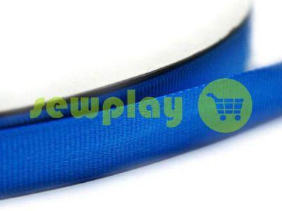 Тесьма репсовая полиамид 15 мм, 20 мм, цвет голубой 094