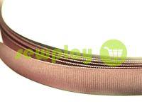 Тесьма репсовая полиамид 15 мм, цвет бежевый 025